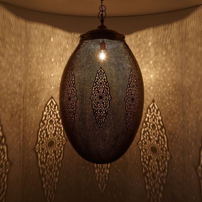 Messinglampe Soraya