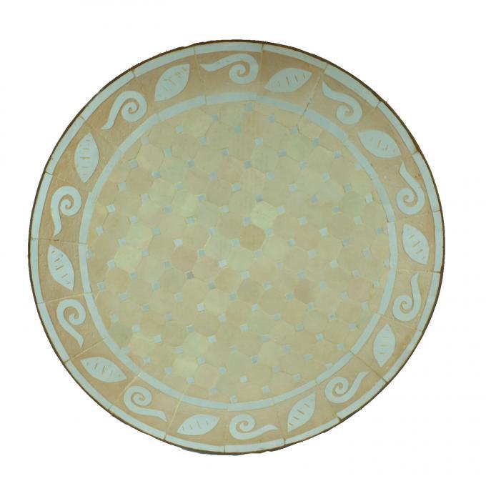 Mosaiktisch aus Marokko - Rund -M60-19