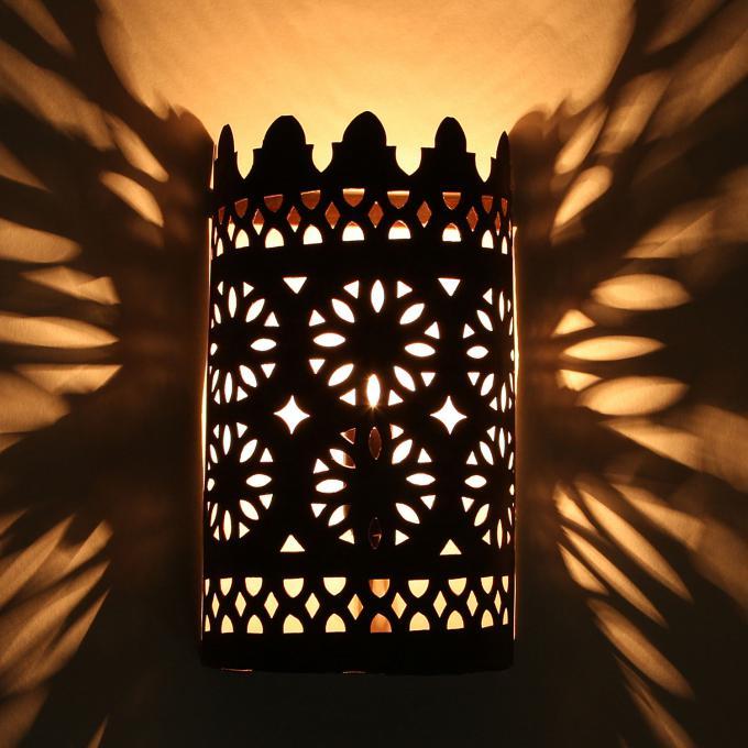 Orientalische eisen wandlampe ewl01 bei ihrem orient - Orientalische wandlampe ...