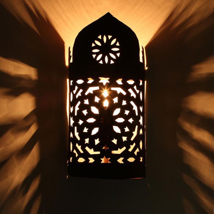 Orientalische eisen wandlampe ewl02 bei ihrem orient - Orientalische wandlampe ...