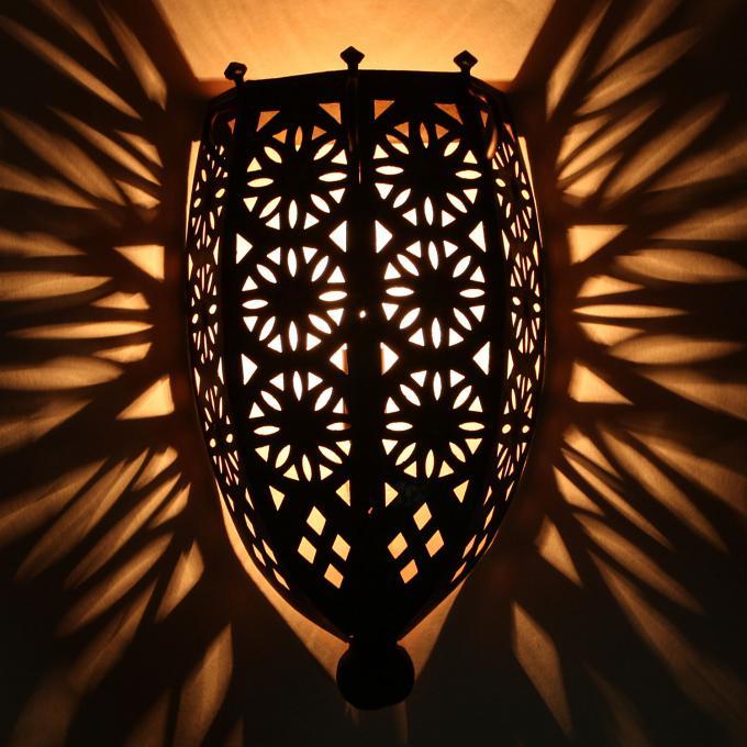Orientalische eisen wandlampe ewl05 bei ihrem orient - Orientalische wandlampe ...