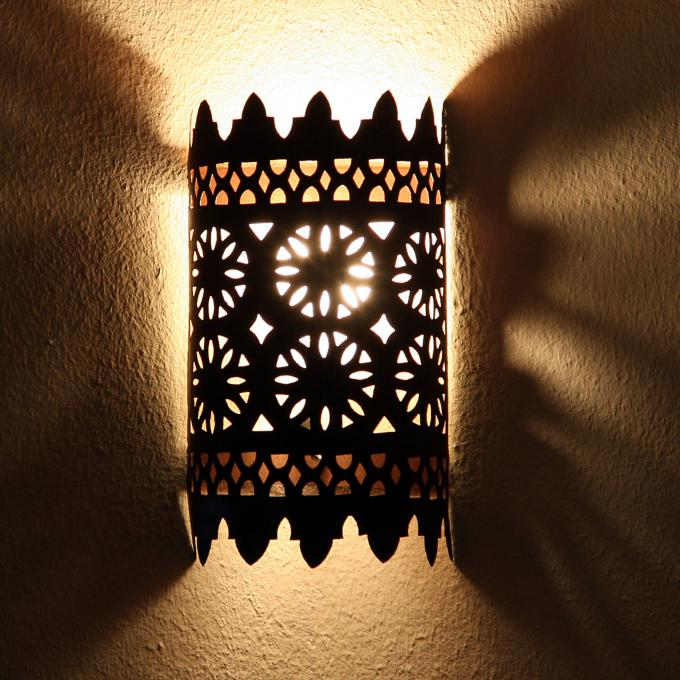 Orientalische Eisen Wandlampe EWL17