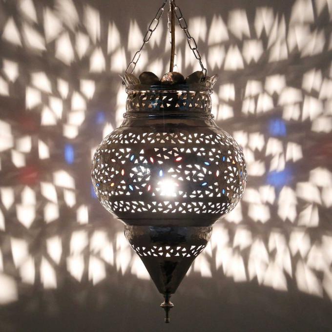 Silberlampe Koura