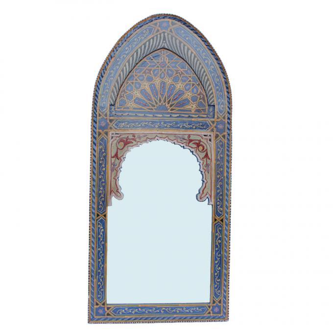 orientalischer spiegel sharif blau bei ihrem orient shop. Black Bedroom Furniture Sets. Home Design Ideas