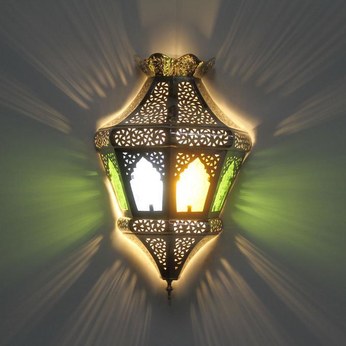 Silber-Wandlampe Adile