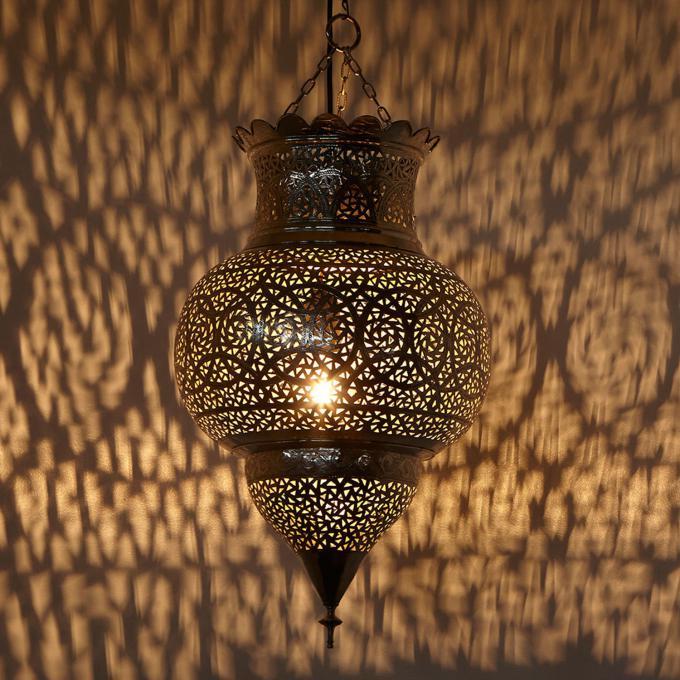 silberlampe habiba bei ihrem orient shop casa moro. Black Bedroom Furniture Sets. Home Design Ideas