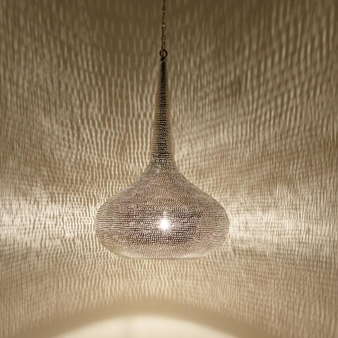 Silberne Lampe Mirbat D32