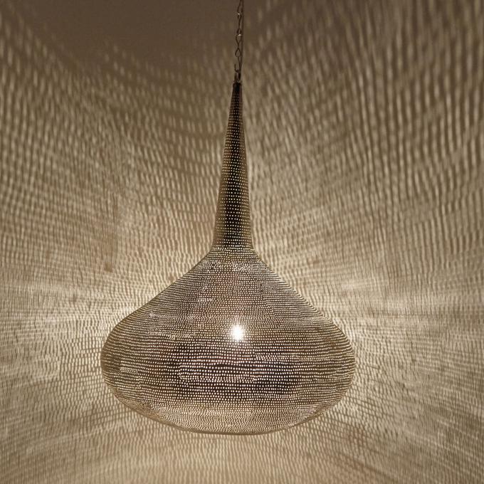 Silberne Lampe Mirbat D44