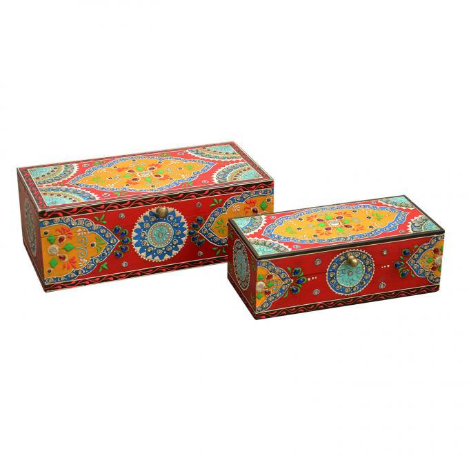 Orientalische Schmucktruhen Asha im 2er Set