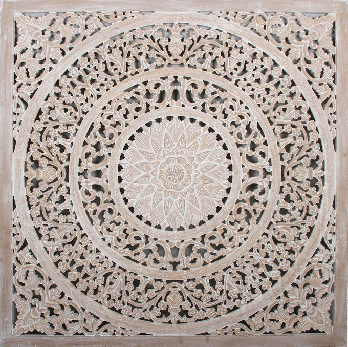 Holz Mandala Haya