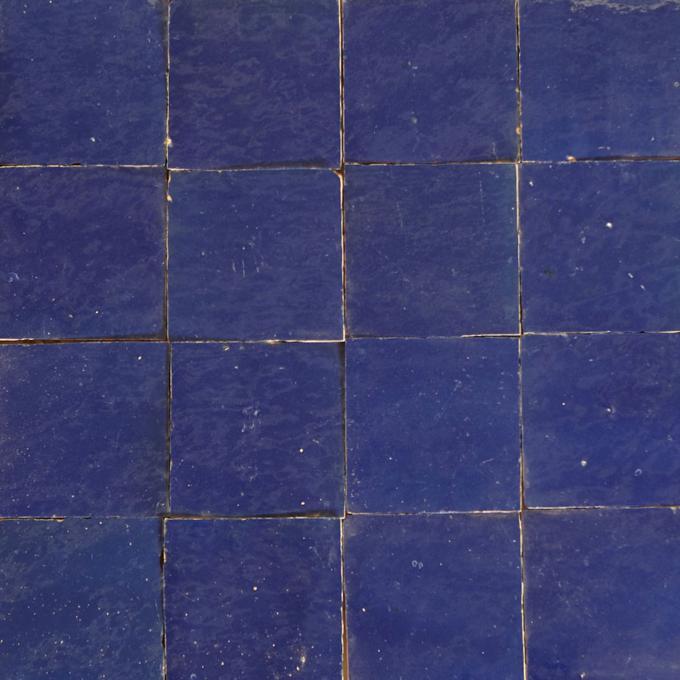 Zellige Fliesen Marineblau