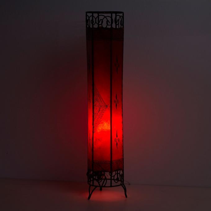 henna stehlampe kadous h100 rot bei ihrem orient shop. Black Bedroom Furniture Sets. Home Design Ideas