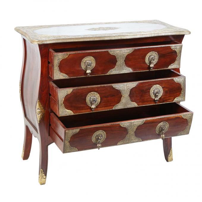 indische kommode leela bei ihrem orient shop casa moro. Black Bedroom Furniture Sets. Home Design Ideas