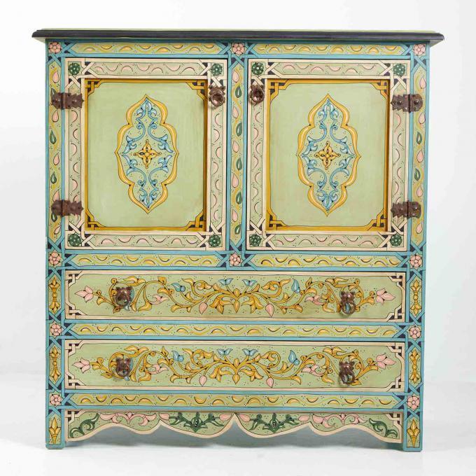Marokkanische Kommode S5000 Bei Ihrem Orient Shop Casa Moro