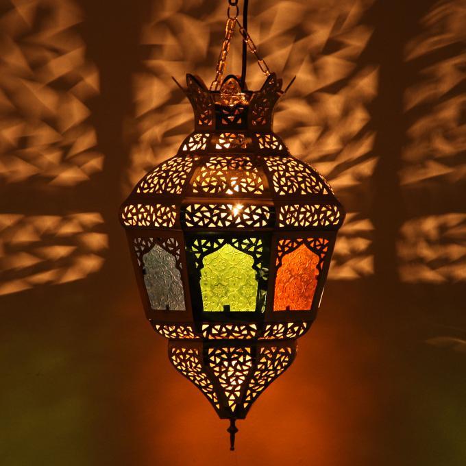 Messinglampe lina bei ihrem orient shop casa moro for Marokkanische messinglampen
