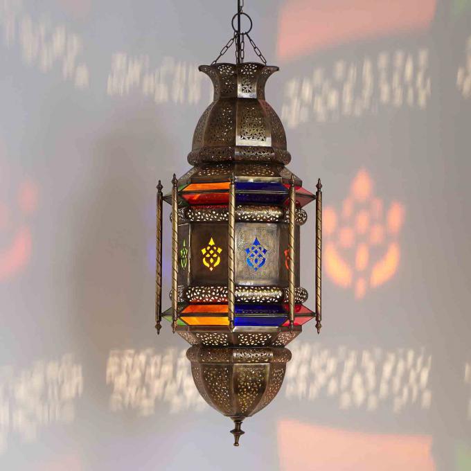 Messinglampe azhar bei ihrem orient shop casa moro for Marokkanische messinglampen
