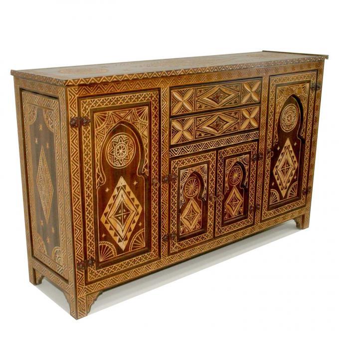 orientalische kommode elamin bei ihrem orient shop casa moro. Black Bedroom Furniture Sets. Home Design Ideas