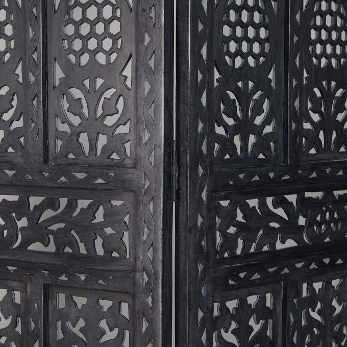 orient holz paravent alqamar bei ihrem orient shop casa. Black Bedroom Furniture Sets. Home Design Ideas