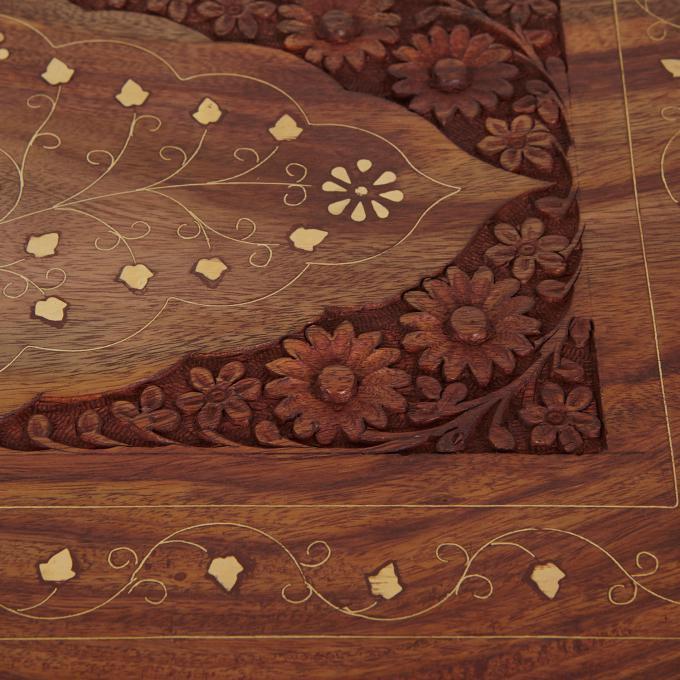 Beistelltische in s 4er set bei ihrem orient shop casa moro for Indische beistelltische