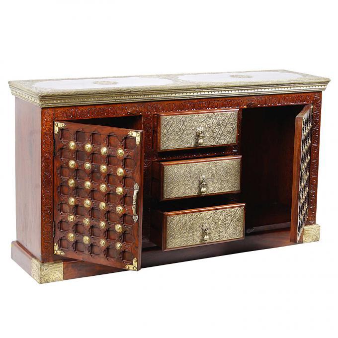 orientalische kommode rajni bei ihrem orient shop casa moro. Black Bedroom Furniture Sets. Home Design Ideas