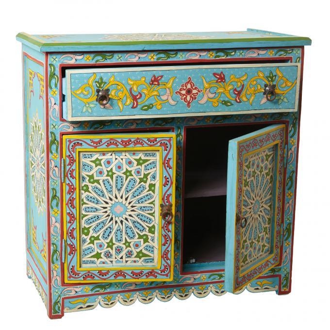 marokkanische antik kommode yousra bei ihrem orient shop. Black Bedroom Furniture Sets. Home Design Ideas