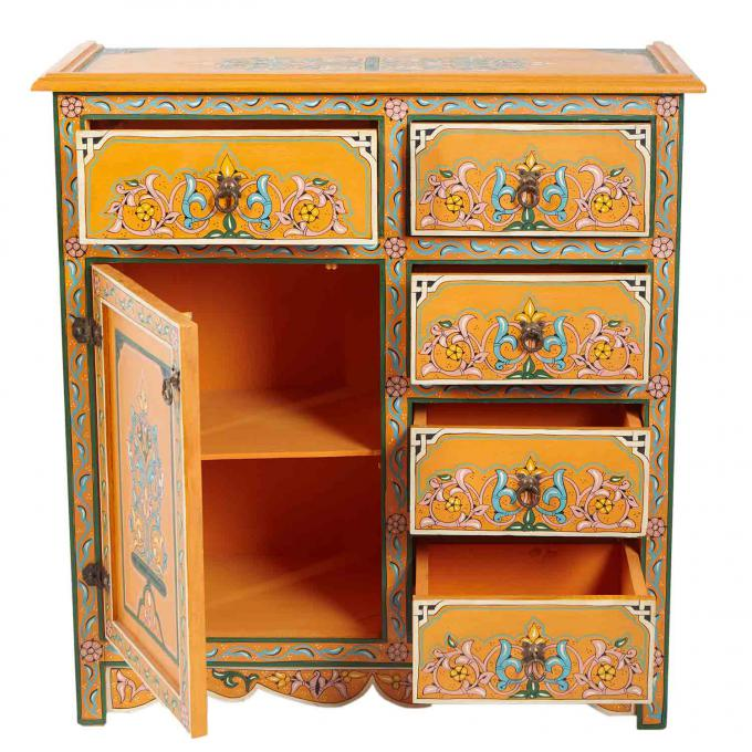 marokkanische kommode s5001 bei ihrem orient shop casa moro. Black Bedroom Furniture Sets. Home Design Ideas
