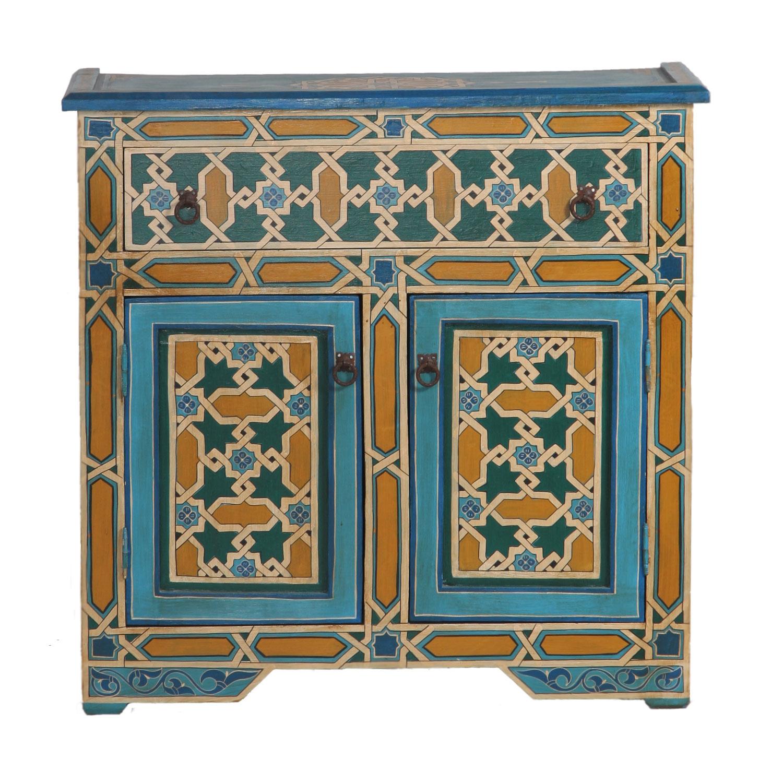 Marokkanische Antik Kommode Mosaik Bei Ihrem Orient Shop