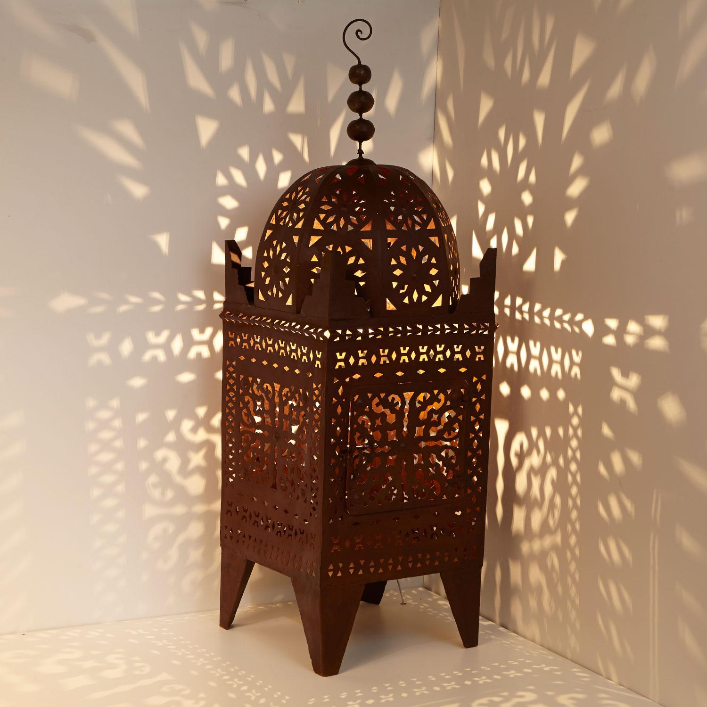eisen laterne firyal h 150 bei ihrem orient shop casa moro. Black Bedroom Furniture Sets. Home Design Ideas