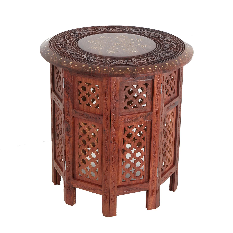 orientalischer beistelltisch holz. Black Bedroom Furniture Sets. Home Design Ideas