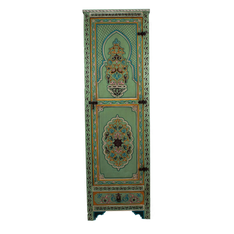 marokkanischer holzschrank iyad bei ihrem orient shop. Black Bedroom Furniture Sets. Home Design Ideas
