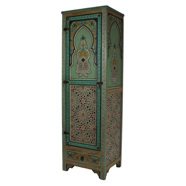 marokkanischer holzschrank malak bei ihrem orient shop. Black Bedroom Furniture Sets. Home Design Ideas