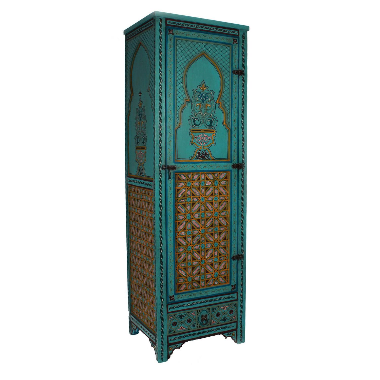 marokkanischer holzschrank sharaf bei ihrem orient shop. Black Bedroom Furniture Sets. Home Design Ideas