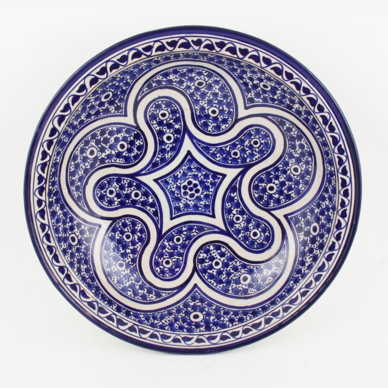 handbemalte keramikschale aus marokko f014 bei ihrem. Black Bedroom Furniture Sets. Home Design Ideas