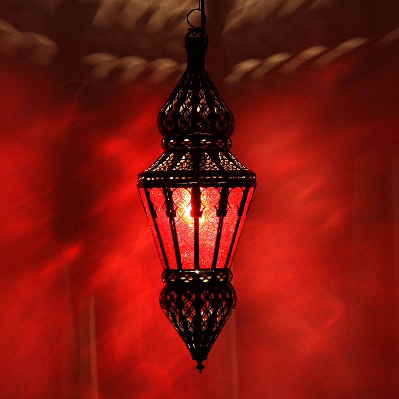 deckenlampe nura rot bei ihrem orient shop casa moro. Black Bedroom Furniture Sets. Home Design Ideas