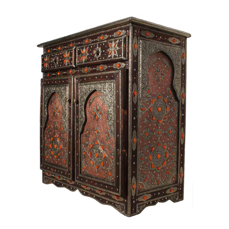 marokkanische kommode genna bei ihrem orient shop casa moro. Black Bedroom Furniture Sets. Home Design Ideas