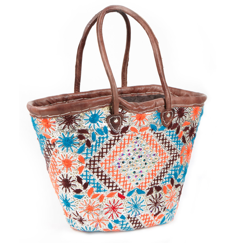 Marokkanische Korbtasche Nour Bei Ihrem Orient Shop Casa