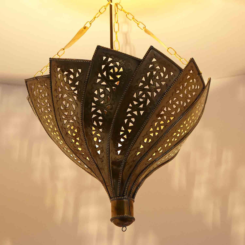 Messinglampe orientica bei ihrem orient shop casa moro for Marokkanische messinglampen