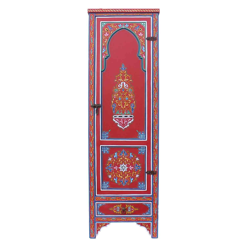marokkanischer holzschrank ayman bei ihrem orient shop. Black Bedroom Furniture Sets. Home Design Ideas