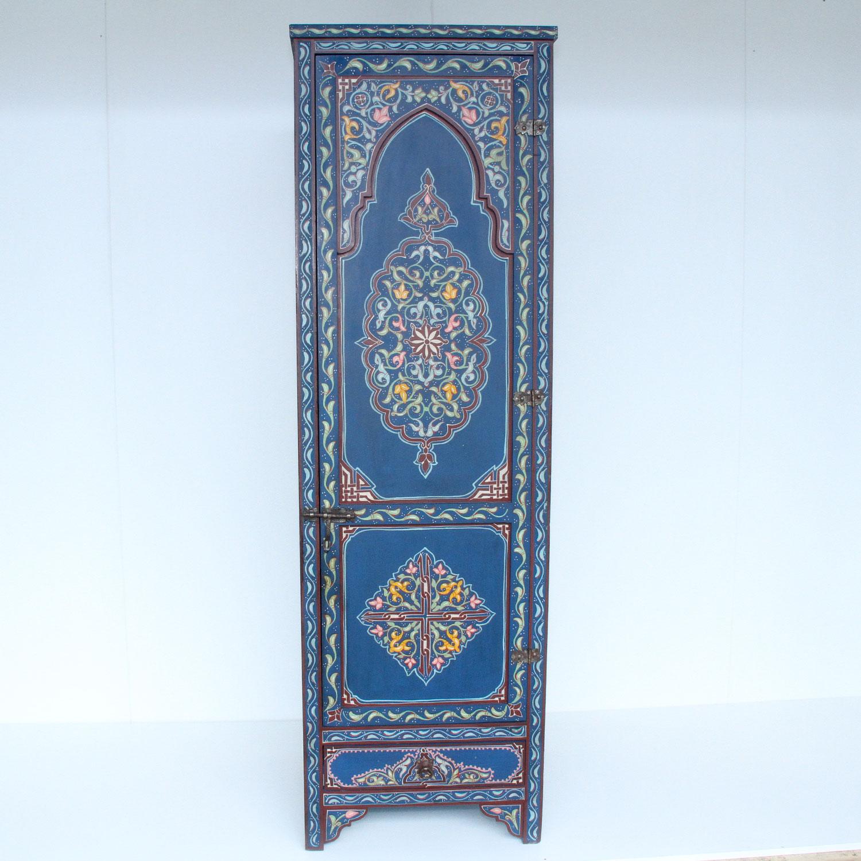 marokkanischer holzschrank lassad bei ihrem orient shop. Black Bedroom Furniture Sets. Home Design Ideas