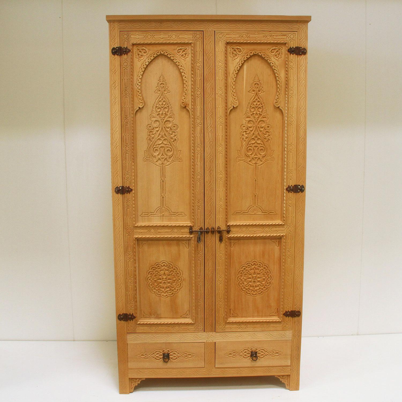 Marokkanischer Holzschrank Faria | bei Ihrem Orient Shop Casa-Moro