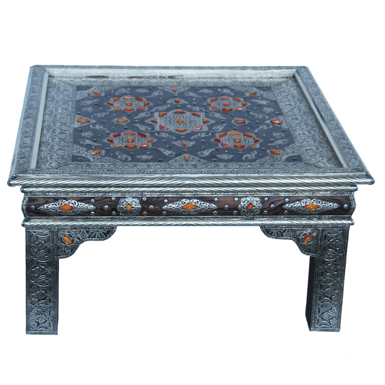 orientalischer tisch feena 80 80 bei ihrem orient shop casa moro. Black Bedroom Furniture Sets. Home Design Ideas