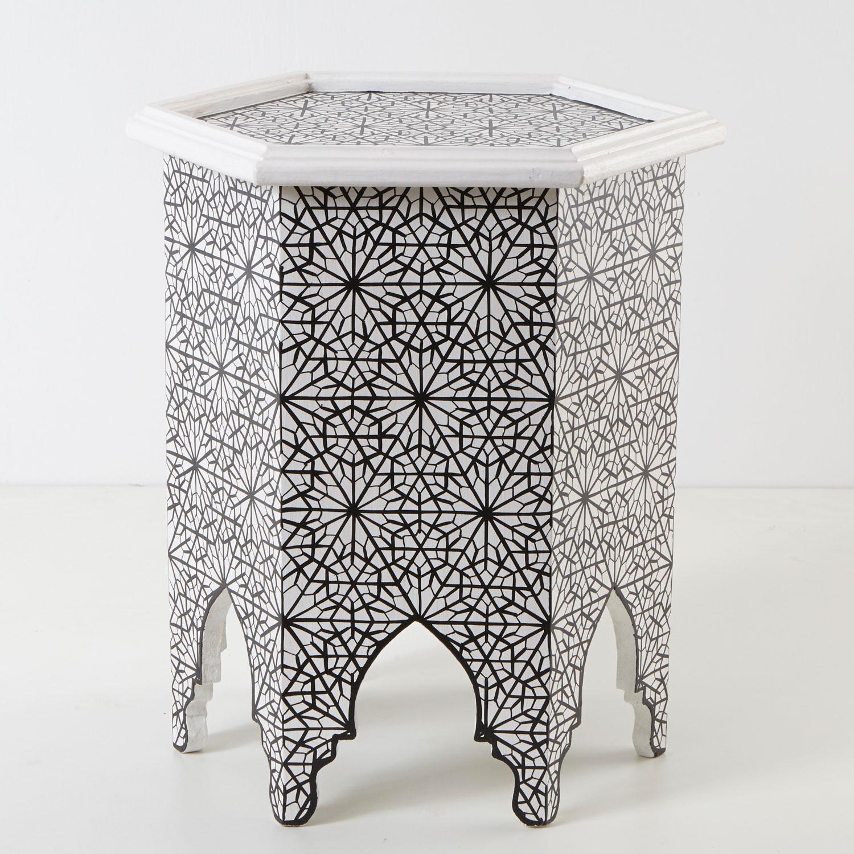 marokkanischer beistelltisch zafer bei ihrem orient shop casa moro. Black Bedroom Furniture Sets. Home Design Ideas