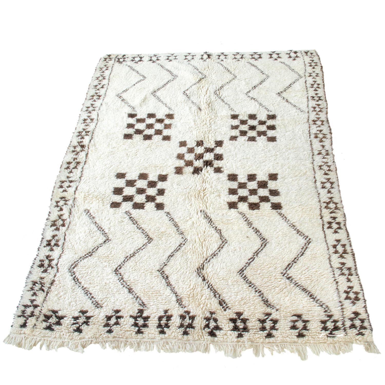 marokkanischer teppich beni ouarain bn2020 bei ihrem orient shop casa moro. Black Bedroom Furniture Sets. Home Design Ideas
