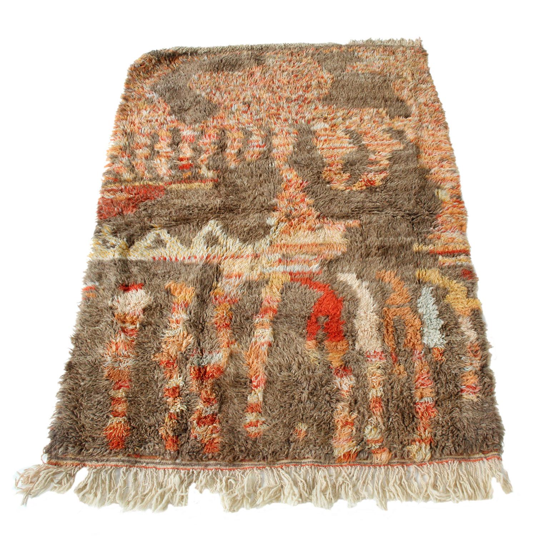 marokkanischer teppich beni ouarain bn2050 bei ihrem orient shop casa moro. Black Bedroom Furniture Sets. Home Design Ideas