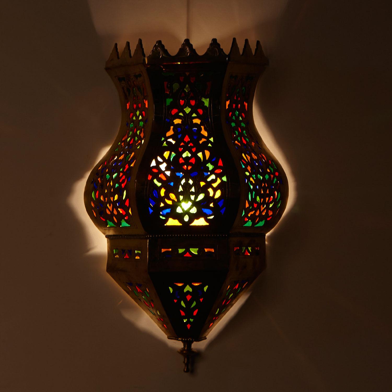 messing wandlampe fenar bei ihrem orient shop casa moro. Black Bedroom Furniture Sets. Home Design Ideas