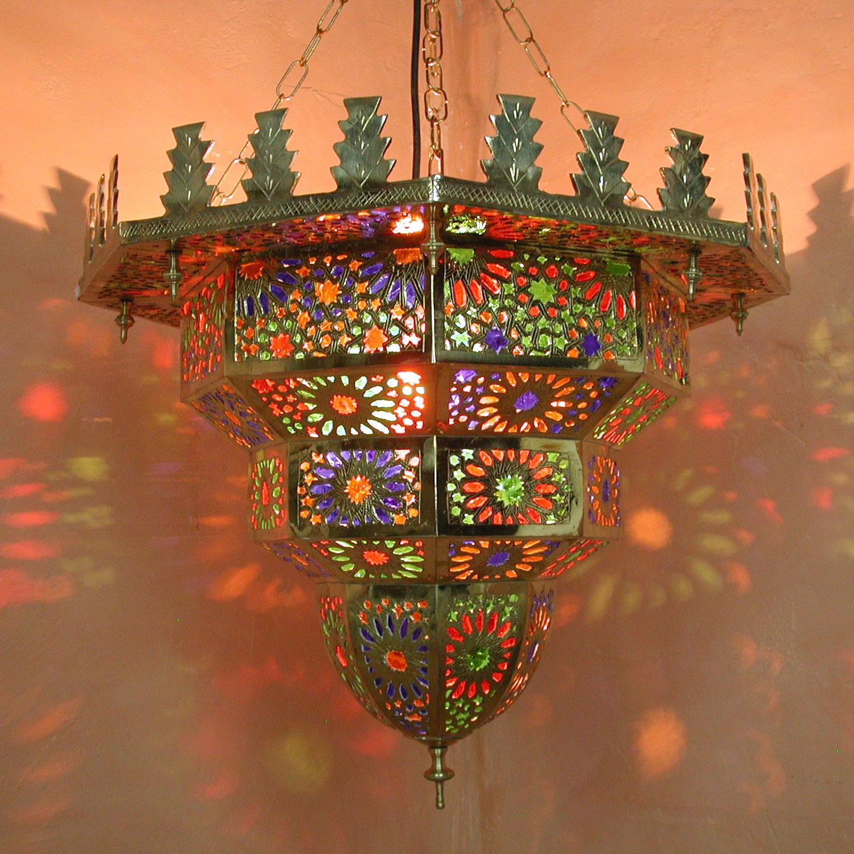 Messinglampe al hambra bei ihrem orient shop casa moro for Marokkanische messinglampen