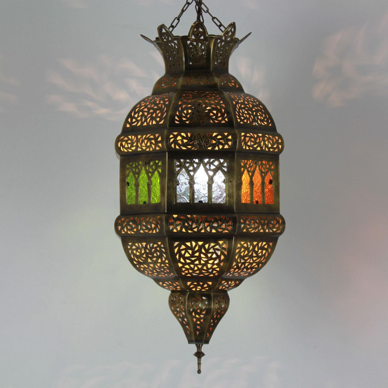 Messinglampe tigana bei ihrem orient shop casa moro for Marokkanische messinglampen
