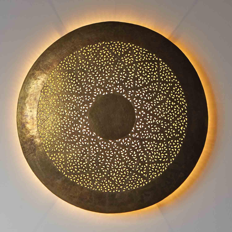 Messing wandlampe hilal bei ihrem orient shop casa moro for Orientalische wandlampen metall