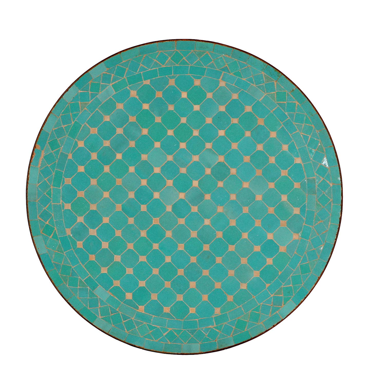 mosaiktisch aus marokko rund m60 11 bei ihrem orient. Black Bedroom Furniture Sets. Home Design Ideas