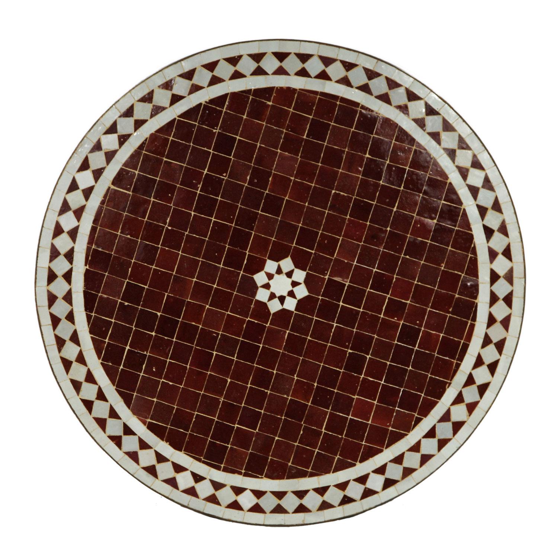 Mosaik tisch aus marokko m60 15 bei ihrem orient shop for Marokko tisch